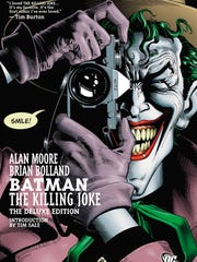 The deluxe-edition book cover of 'Batman: The Killing