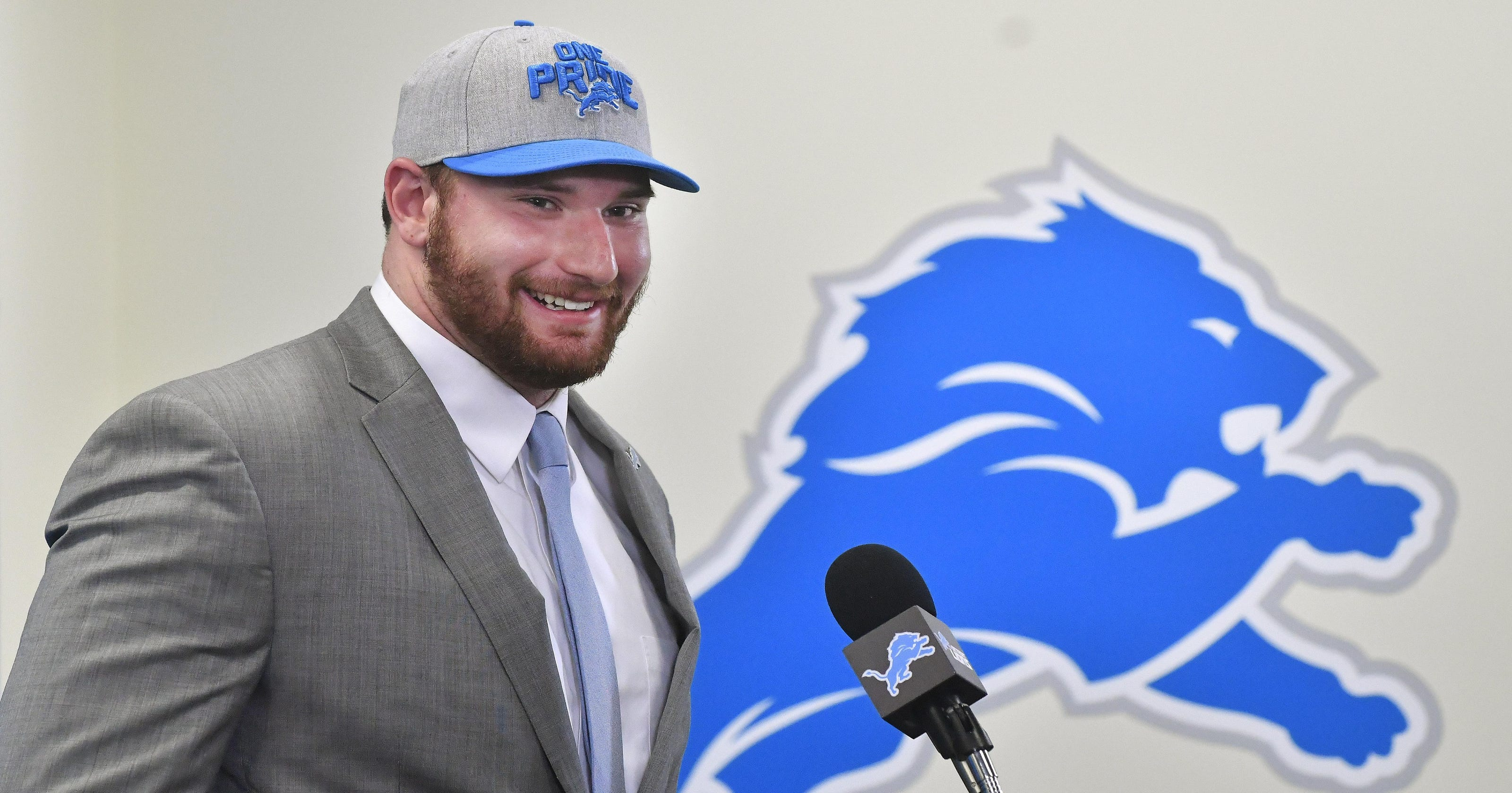ef29ddcbf What Lions  Frank Ragnow said at opening press conference