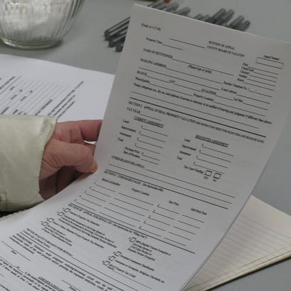 A form on which one can appeal their taxes.