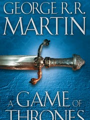 """A Game of Thrones"" by George R. R. Martin."