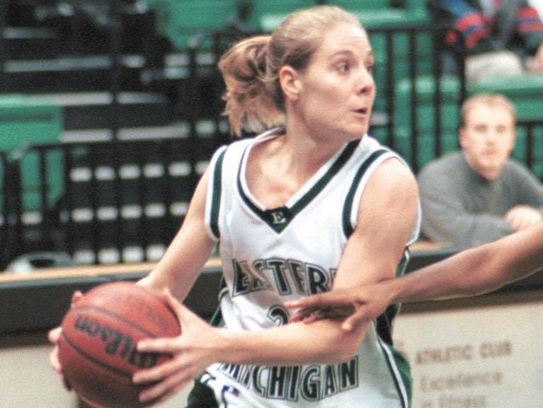 Holt's Stephanie Smiley was the first MAC basketball player - man or woman - to end a career with at least 1,400 points, 700 rebounds, 500 assists, 200 steals and 100 blocked shots.
