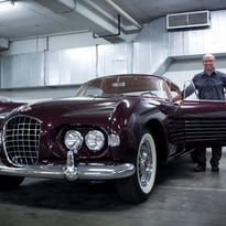 Just Cool Cars: A very rare 1953 Ghia Cadillac