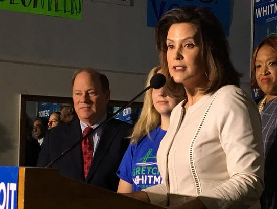 Gretchen Whitmer was endorsed by Detroit Mayor Mike