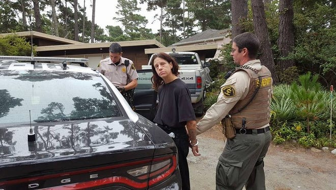 Deputies arrested Deborah Barberie at a Pebble Beach home on Sunday.
