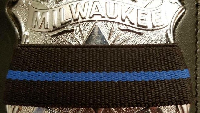 Milwaukee police badge.