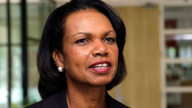 Condoleezza Rice joined others in the Bipartisan Policy Center to push a set of recommendations for immigration.