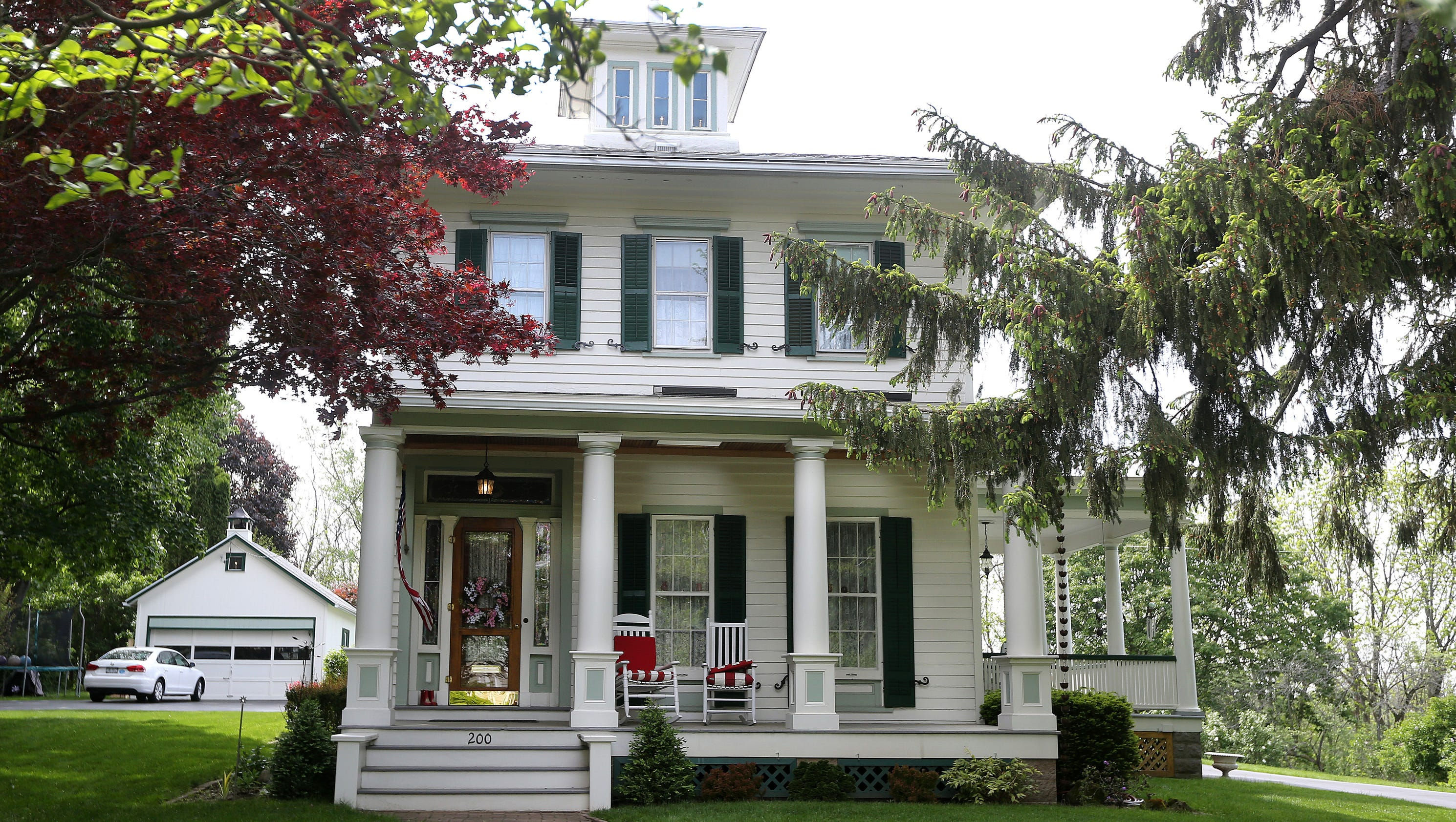 Historic grand home for sale in Fairport