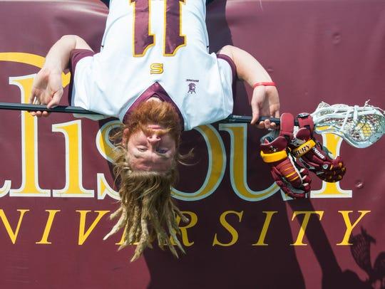 Salisbury University men's lacrosse standout Knute