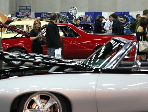 Carl Casper Custom Auto Show Packs In Enthusiasts
