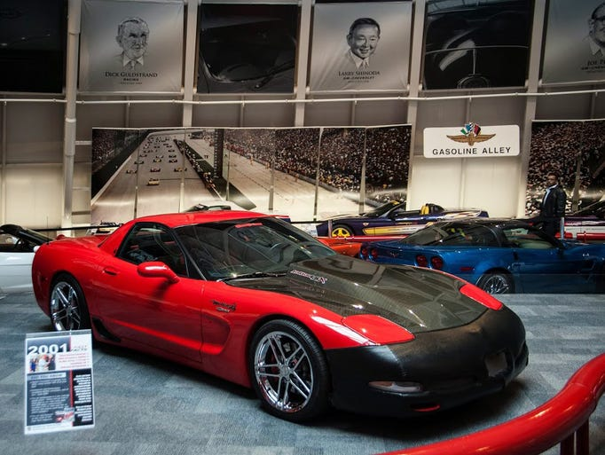 2001 Mallett Hammer Z06 Corvette â?? A stock 2001 Z06 Corvette (the first year the Z06 was made) was converted by Mallett Cars in 2002. The alterations took the 5.7 L 385 hp engine and increased it to 700 hp. The car was additionally modified with an AntiVenom 436 conversion package in 2008. The car ran a dead-stop one mile sprint at 178 mph, a feat that got it on the cover of the April 2010 issue of GM High Tech Performance Magazine. It was donated to the museum by Kevin and Linda Helmintoller in late 2013.