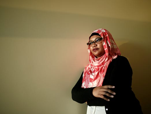 Fatimah Farooq, 23, of Dearborn, works as a research