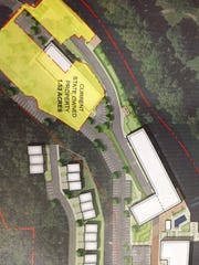 State land at Alapocas Run State Park that is proposed for land swap with Buccini/Pollin Group.