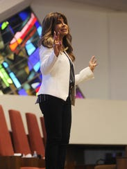 Paula Abdul tells a story about her life during the