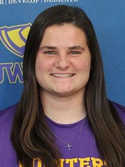 Morgan Johnson was an All-WIAC first team outfielder