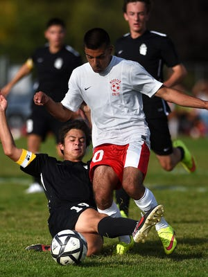 Wooster soccer team's Salvador Jimenez -- for better or worse, he's not an Earl J. Wooster Rooster.
