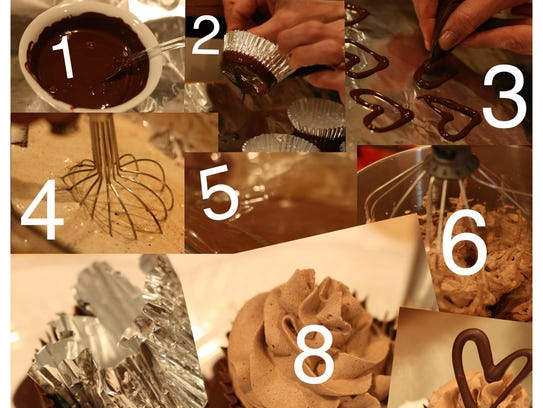 Step-by-step to a melt in your mouth chocolate mousse
