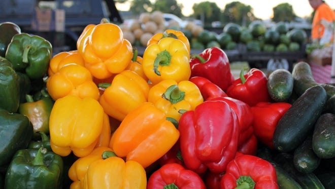 Farmers markets offer locally grown vegetables, organic selections of great food, breads and fresh flowers.