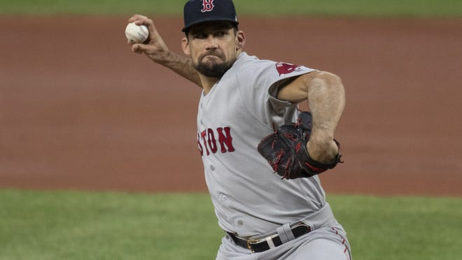 Nathan Eovaldi's best performance of the season came on Aug. 20 in Baltimore, his last start before going on the injured list.