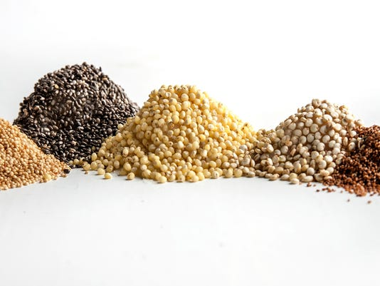 Mix grains for great taste, texture