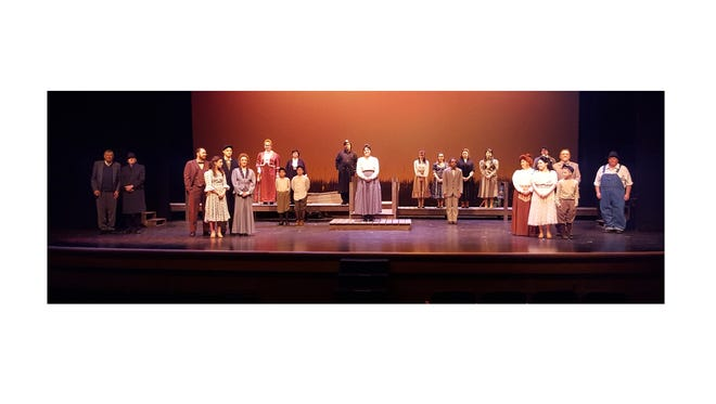 """Cumberland County College's Department of Theatre received four 2016 Perry Award nominations from the New Jersey Association of Community Theatres for its April production of """"Our Town."""""""