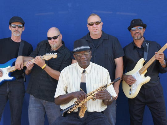 The Floyd Grigsby and the 5GK Band consists of Floyd Grigsby (front man and saxophonist), Nick Tingle (guitarist), Kurt Watson (drummer), Greg Smith (bass) and Michael Henderson (piano).