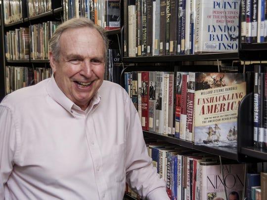 "Willard Sterne Randall, author of ""Unshackling America:"