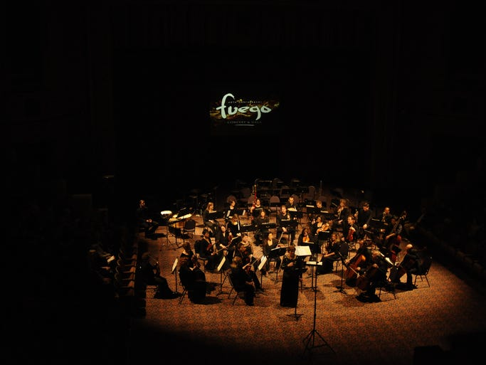 The Cincinnati Chamber Orchestra hosted Fuego, its 40th anniversary concert and fundraiser gala, at the Cincinnati Masonic Center.