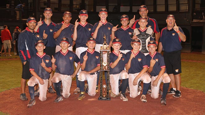 The SWA Storm 12-and-under baseball team were crowned Week #6 champions on July 13th at Cooperstown Dreams Park in Cooperstown, NY after defeating the Cincy Flames (Ohio) by a score of 12-11.