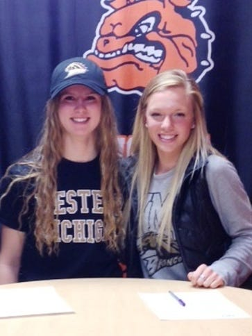 Erin Dowd, left, and Kirsten McGahan, right, will continue
