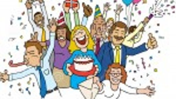 http://www.dreamstime.com/royalty-free-stock-photos-cartoon-office-celebration-image15570488