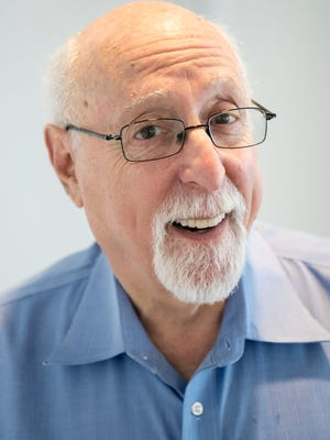 Walt Mossberg, a well-known tech reviewer at TheVerge.com and Recode.net, in his Washington, D.C., office