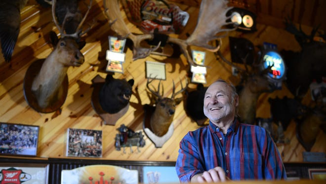 Russ Demmith is the owner of Demmith's Hunter's & Fisherman's Tavern in Lena, which features more than 1000 animal mounts.