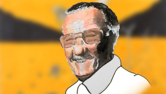 Stan Lee illustration