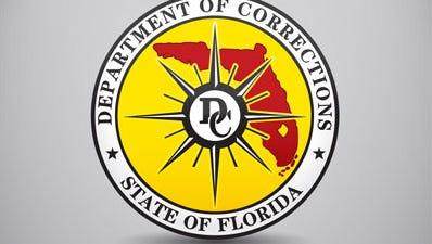 Florida Department of Corrections logo.