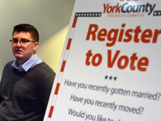 PHOTOS: Voter registration at YCP