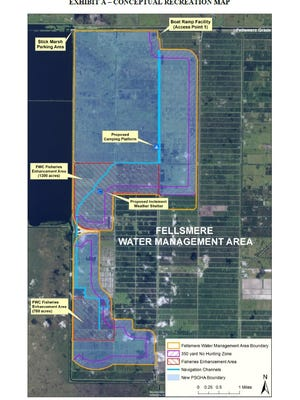 Fishermen eagerly await a planned boat ramp at the Fellsmere Water Management Area, which  could one day become the best bass fishing hole in the state, and beyond.