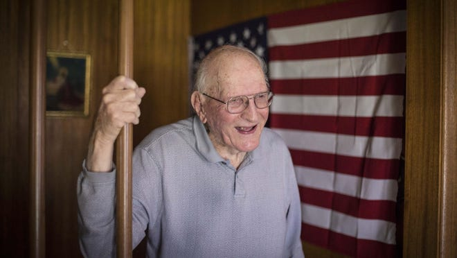 Duane Chaffee, 91, of Des Moines was in the 11th Airborne Division and went into Japan four days before the end of the war, then stayed four more months afterward.
