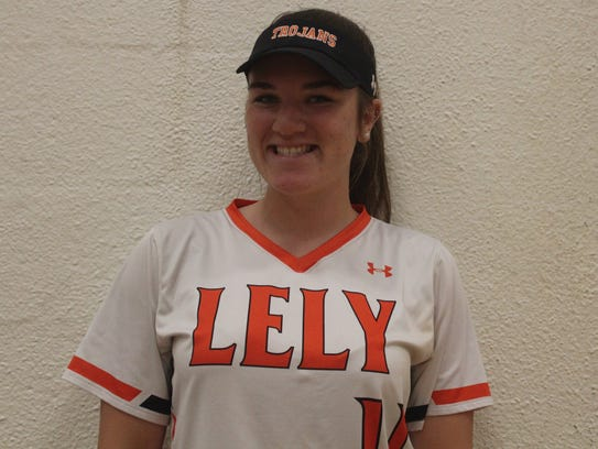 Lily Manning, Lely softball
