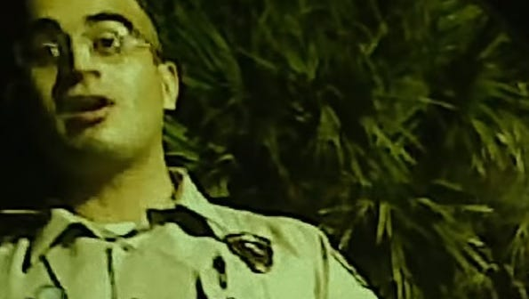 Omar Mateen, the gunman in the Orlando nightclub shooting, appeared as a security guard in the 2012 documentary 'The Big Fix' about the 2010 Big oil spill in the Gulf of Mexico