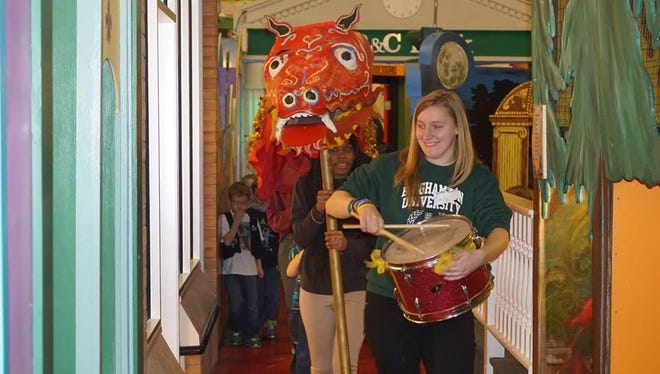 A dragon parade will be part of the Chinese New Year celebrations at the Discovery Center.
