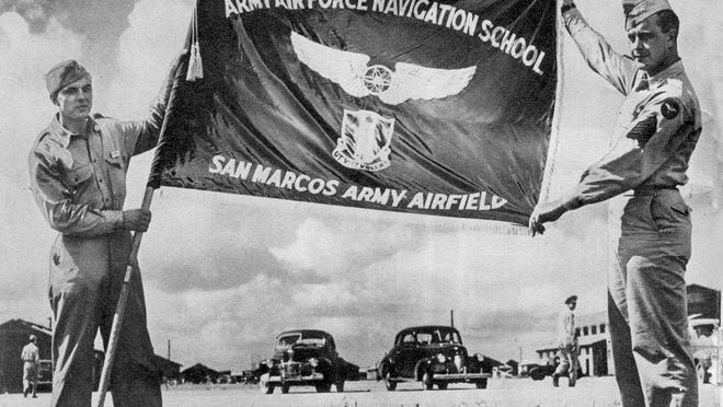 San Marcos Army Airfield on Dec. 15, 1942.