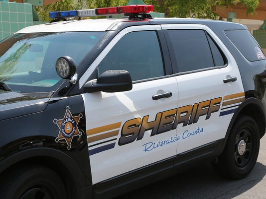 Riverside County police car stockable