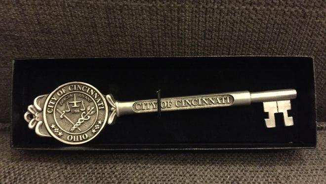 A key to the City of Cincinnati