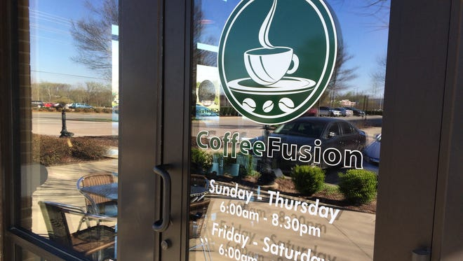Coffee Fusion is on North Thompson Lane in The Gateway Village in Murfreesboro