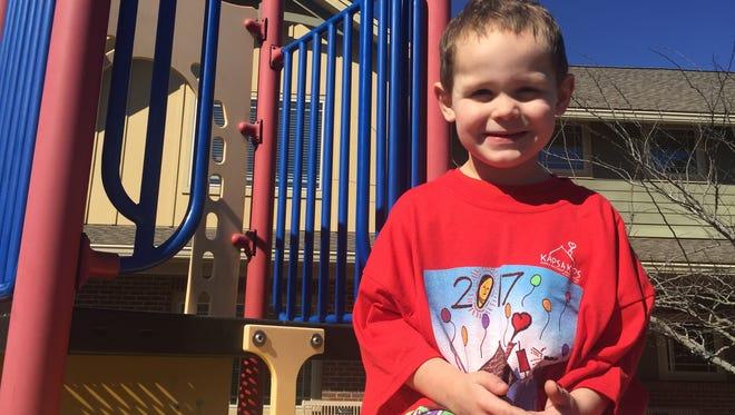 A sneak peek at this year's Kaps 4 Kids T-shirt to benefit Ronald McDonald House Charities.