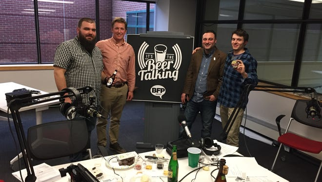 Host Jeff Baker and guest-host Ryan Chaffin welcomed Sam Hooper from Vermont Creamery and Eric Lampman from Lake Champlain Chocolates on episode 2.12 of It's the Beer Talking.