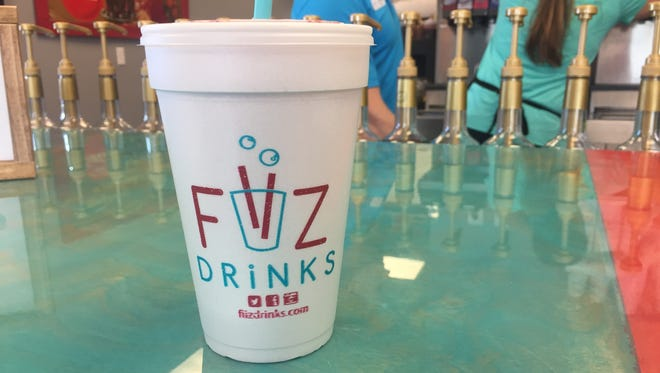 FiiZ Drinks is located at 2339 S. River Road in St. George.