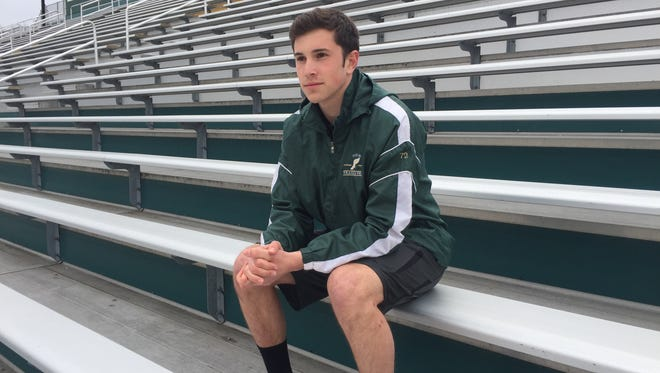 Vestal High junior Johannes Stromhaug is a pole vaulter on the rise.