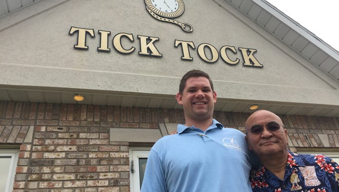 Jason Conley, left, owner of Tick Tock Tavern in Lafayette brought chef Tony Yamazaki, owner of Kokoro sushi house for nearly three decades, on to help shake things up at the tavern known best for its breakfasts and chicken and noodles lunch specials.