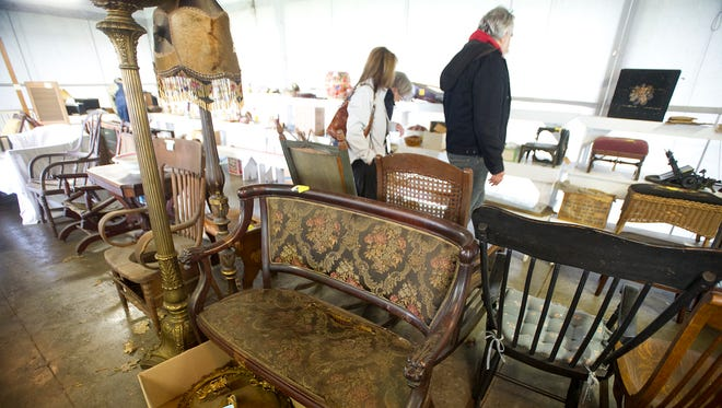 Items that had been stored for decades at the Galloway House and Village in Fond du Lac were part of a Treasure Sale held May 15-17. The sale was put on by the Fond du Lac County Historical Society.